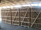 Best-Quality KD Eucalyptus Cleaved Firewood