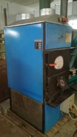 Woodworking Machinery Boiler Systems With Furnaces For Logs - Used Fabbri F85 CV Wood Fuel Hot Air Generator, 1990