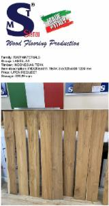 Indonesian Teak Lamellas, 3.5x130x900-1200 mm