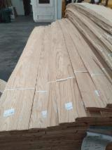 Oak Flat Cut/Plain Natural Veneer, 0.55 mm