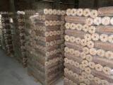NESTRO (Round) Oak Wood Briquets for Sale