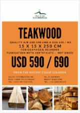 Fresh Sawn Teak Planks (Ecuador), 150 mm