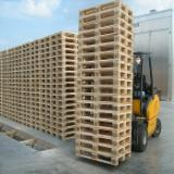 Used/New Pine Euro Pallets, 800x1200 mm