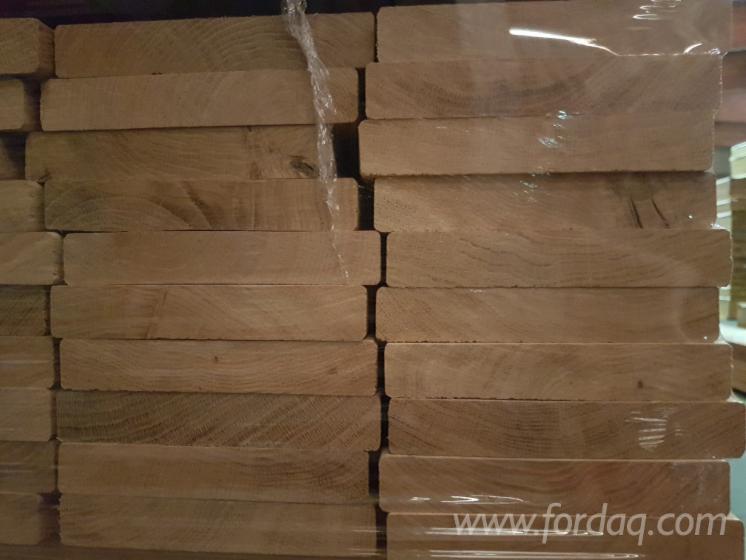 23x140 mm Eiche FSC 100% KD Terrassendielen glatt/glatt Rustikal