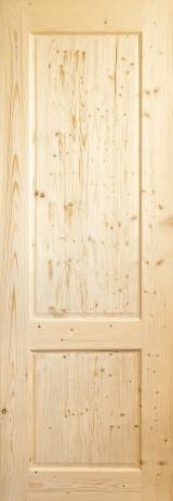 Europejskie Drewno Iglaste, Drzwi, Drewno Lite, Sosna Zwyczajna - Redwood, Świerk - Whitewood, Świerk Syberyjski, FSC
