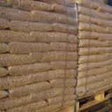 A1/A2 Pine/Spruce Wood Pellets, 6 mm