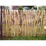Furniture And Garden Products - Acacia Fence Made of Wooden Poles