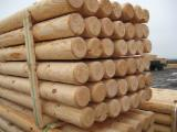 Pine Round Poles, FSC, 8-16 cm