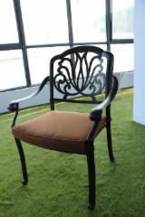 Cast Aluminum Patio Lounger Chairs