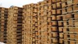 Nous vendons des palettes Euro recyclées / usagées 800x1200 mm EURO et EPAL en bon état ainsi que pour réparer
