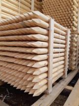 Vender Madeira Redonda Aparada De Forma Cilíndrica Abeto - Whitewood Letônia