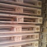 New/Used Euro Fir/Spruce Pallets, 80x120 cm