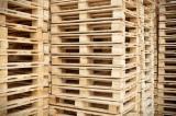 2 Ways Epal-Euro Wood Pallets, 80x120 cm