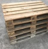 New/Used Epal Fir/Pine/Spruce Euro Pallets, 800x1200 mm