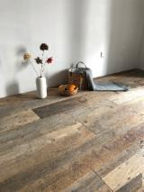 Reclaimed Antique Wood Flooring, 15+ mm