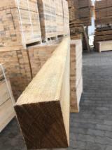 Fresh/KD Pine Squares, FSC, 35+ mm