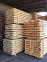 Vender Vigas Redondas De Construção Pinus - Sequóia Vermelha Belorussia