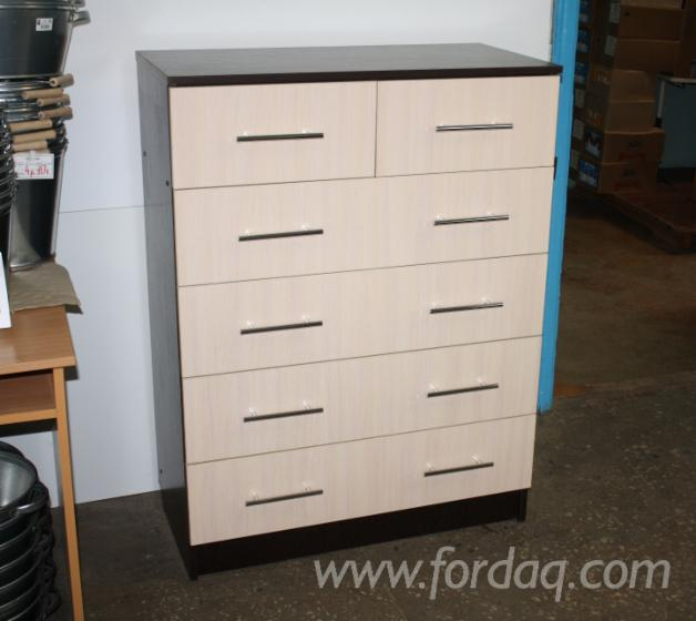 Chipboard Traditional Chest of Drawers
