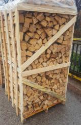 Beech/Oak Cleaved Firewood, 25-50 cm