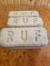 RUF Spruce Wood Briquets for Sale