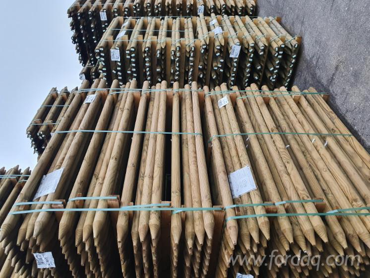 Pine Poles for Sale, 1.5-2.2 m