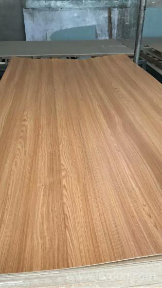 Melamine Paper-Faced MDF Board with Poplar Material