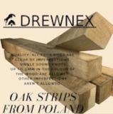 Lamelles de chêne, AA, Pologne, FSC
