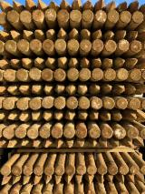 Machine-Rounded Pine Poles, 800-4000 mm