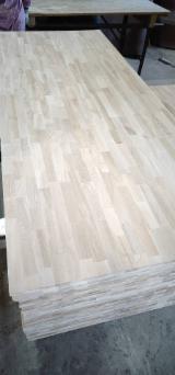 Oak FJ Solid Wood Panels, 18-40 mm