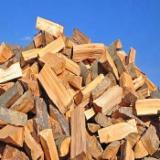 劈切薪材 – 未劈切 碳材/开裂原木 榉木, 桦木, 橡木
