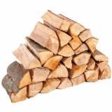 Eiche Brennholz Ungespalten