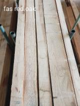 4/4 FAS Red Oak Lumber, Length 8-16'