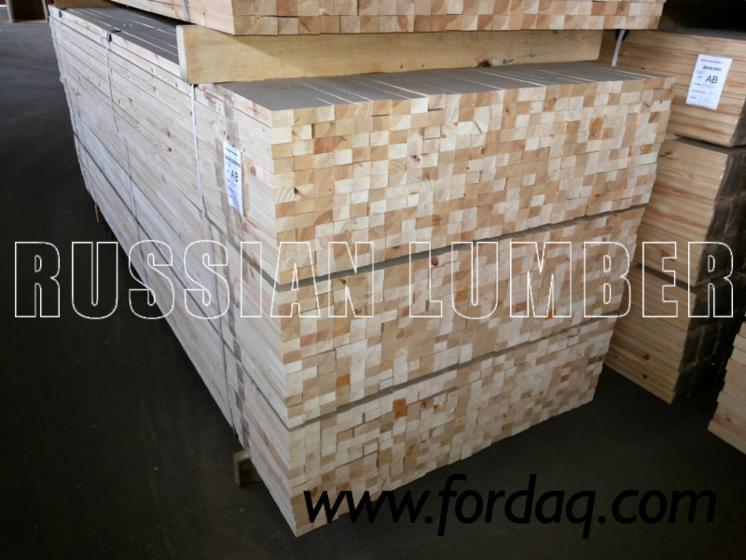 Vender Madeira Esquadriada Pinus - Sequóia Vermelha, Abeto - Whitewood 30-45 mm North-West Rússia