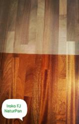 Iroko AB Finger-Jointed Wood Panel, 19 mm