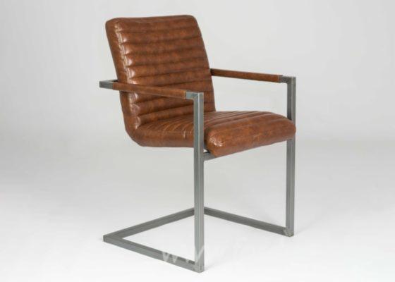 Bergamo--Stainless-Steel-Armchair
