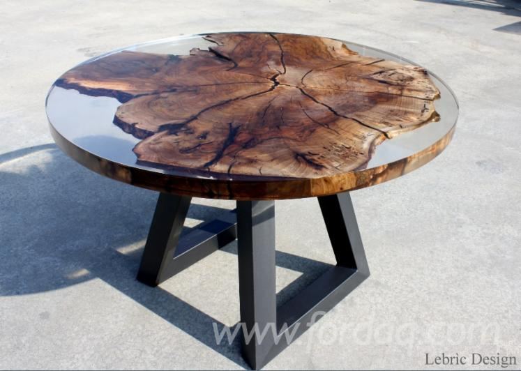 Wood & Epoxy Resin Country Tables