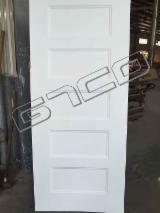 6 Panel White Premier HDF Door Skin for Interior Doors