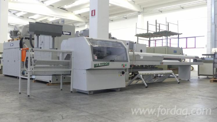 Used-Bausola-Multitron-Optimization-Cross-Cut-Saw