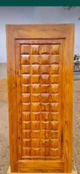 Afrikanisches Laubholz, Türen, Massivholz, Teak