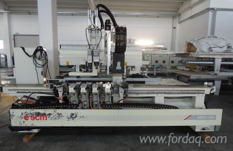 Used-SCM-Aries-WA--CNC-Machining-Center