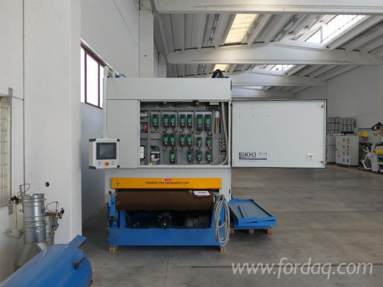 Used-Costa-Levigatrici-KH3-Top-Finish-TS4-Brushing-Calibrating-Line