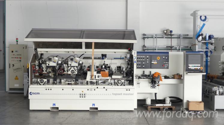 Vender-M%C3%A1quinas-De-Moldagem-Para-Usinagem-De-Tr%C3%AAs-E-Quatro-Lados-SCM-Topset-Master-Usada-2012