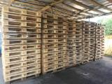 New/Used Pine/Spruce Euro Pallets, 800/1000x1200 mm