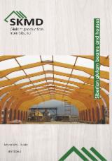 Vender Glulam- Vigas Moldeadas/curvadas SKMD Lariço Siberiano, Pinus - Sequóia Vermelha, Pinheiro Siberiano