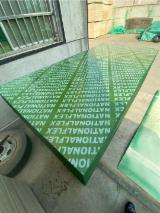 18mm high reused green PP plastic formwork film faced plywood for construction