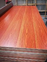 Furniture grade cabinets decoration melamine laminated plywood with poplar core