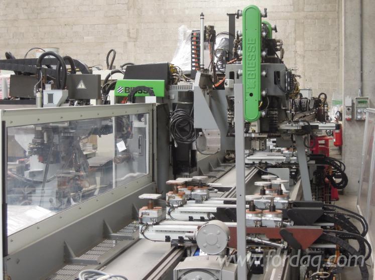 Gebraucht-Biesse-Uniwin-2008-CNC-Fensterbearbeitungszentrum-Zu-Verkaufen