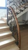 Bent Wood, Curved Wood - Oak Solid Wood Stairs for Sale