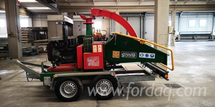 Used-Green-Technik-Cip-2200-Chipping-Machine