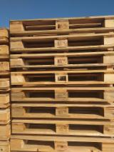New/Used Pine/Spruce Pallets, 80x120 cm